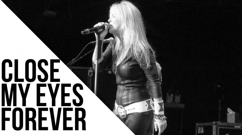 Lita Ford close my eyes forever